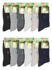 C204 носки мужские 41-47 (12шт), цветные