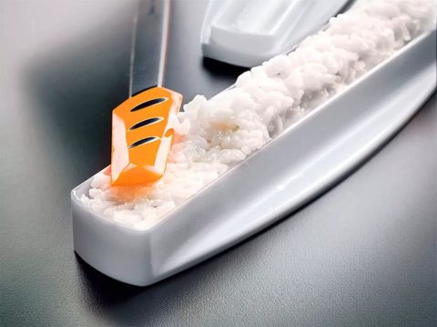 силиконовый скребок малый tupperware Г78