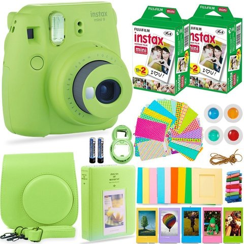 Fujifilm Instax Mini 9 Camera SET BOX
