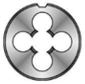 Плашка М 8 шаг 1,25мм D25мм Bucovice 210080