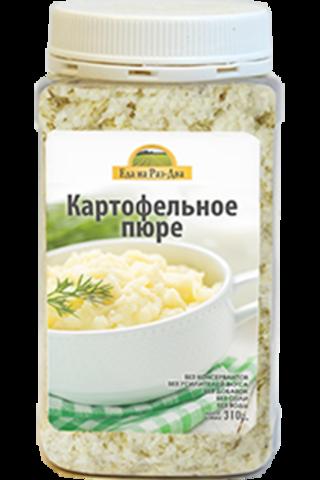 Картофельное пюре в ПЭТ-банке 'Здоровая еда'