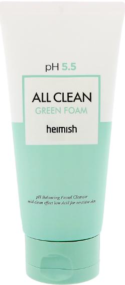 Heimish All Clean Green Foam зеленая пенка для лица 150 г