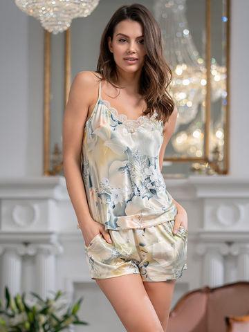 Пижама женская шелковая Mia-Amore LUCIANNA  Лучианна 3522
