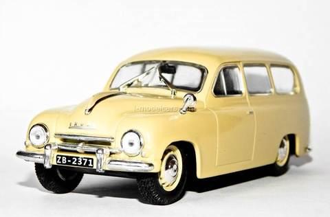Skoda 1201 1:43 DeAgostini Auto Legends USSR #192