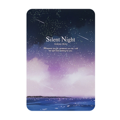 Блокнот Silent Night Purple