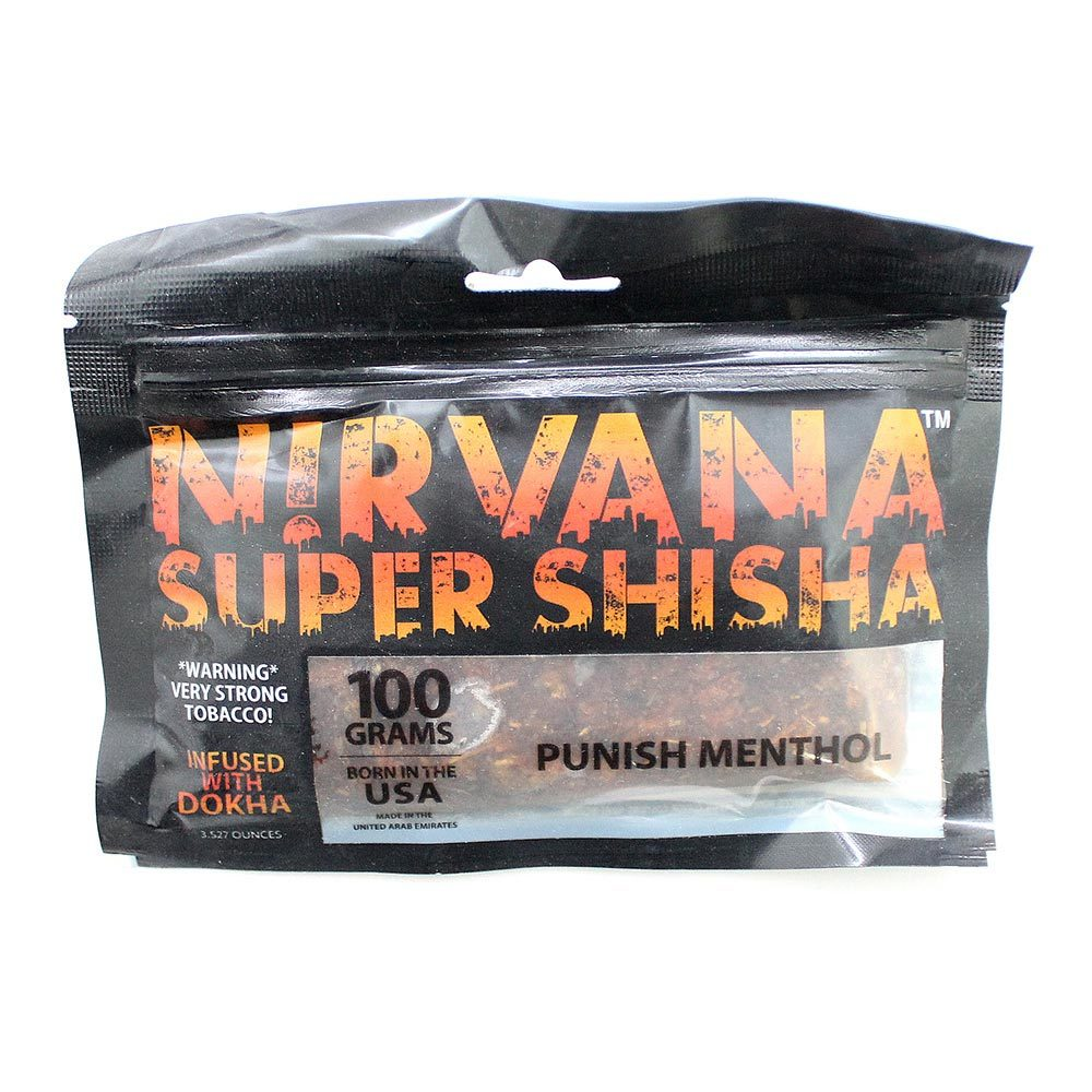 Табак для кальяна Nirvana Punish Menthol 100 гр