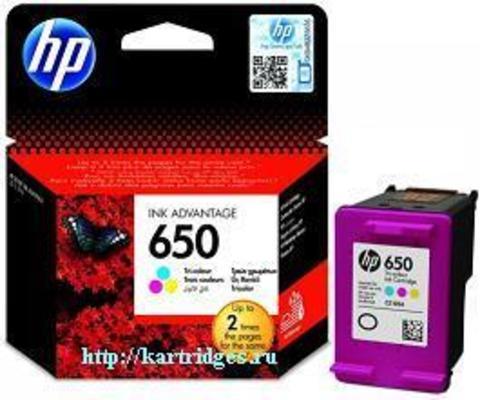 Картридж Hewlett-Packard (HP) CZ102AE №650