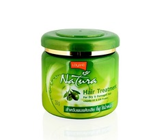 Маска для лечения волос с Жожоба и протеинами шелка, Lolane Natura