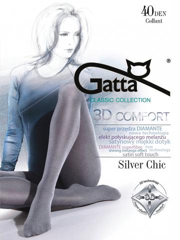 Колготки Silver Chic 40 Gatta