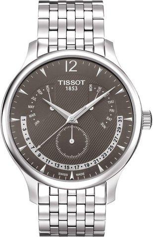 Купить Мужские швейцарские часы Tissot T-Classic Tradition T063.637.11.067.00 по доступной цене