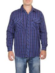 685-5 рубашка мужская, темно-синяя