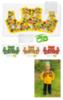 Овощи жилет ( комплект для пошива )
