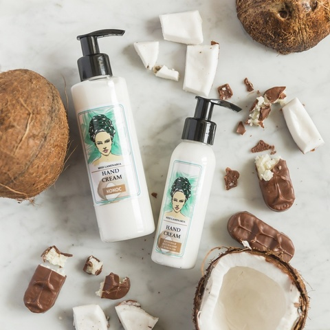 Miss Laminaria. Крем для рук Кокос HAND CREAM - COCONUT