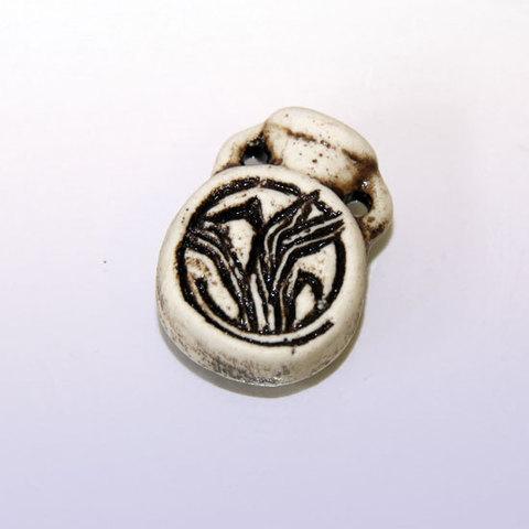 Аромакулон Кувшинчик с ручками, шликер 3 cm