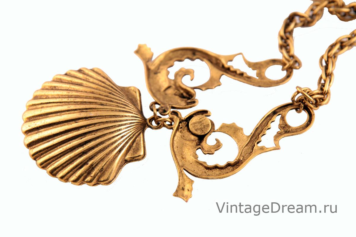 Изысканное колье в морском стиле от Joseff of Hollywood. book PIECE