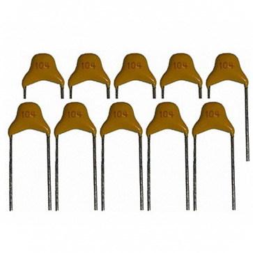 Конденсаторы керамические различного номинала (10 шт.)