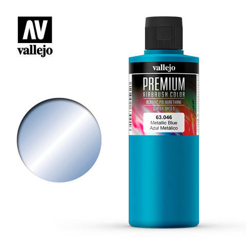 Premium Airbrush Metallic Blue 200 ml.