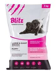 Корм Blitz для щенков крупных пород — Puppy Large & Giant