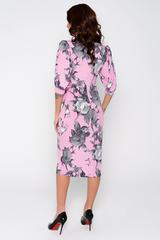 """В этом сезоне лучше всего для обаятельной девушки это нежно - розово-сиреневое платье. Безусловно юным особам этот цвет подходит. Именно этот цвет дизайнеры рекомендуют выбрать в этом году на выпускной бал. Элегантное платье прямого силуэта с пышным рукавом до локтя на манжете - это эталон моды! (Пояс в стоимость не входит, можно приобрести в разделе """"аксессуары"""")."""