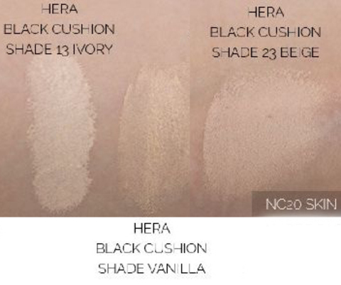 Hera Black Cushion SPF34 PA++, 15 гр х 2