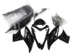 Комплект пластика для мотоцикла Kawasaki ER-6N 09-12 Черный заводской