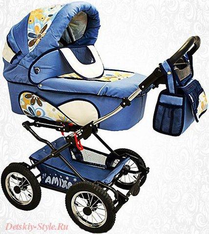 "Коляска Для Двойни Stroller B&E ""Maxima Twin"" 2в1"