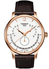 Мужские швейцарские часы Tissot T063.637.36.037.00 Tradition Perpetual Calendar