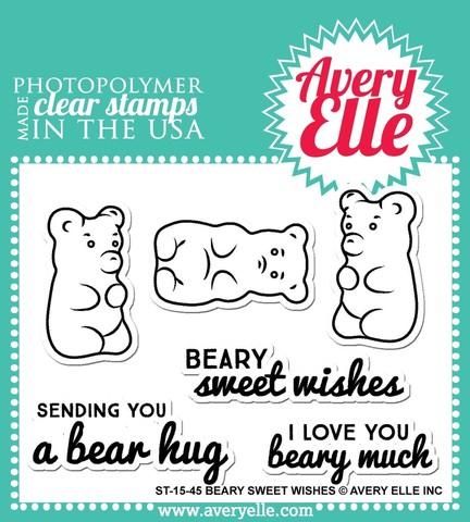 """Комплект силиконовых штампов """"Beary Sweet"""""""