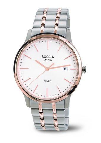Купить Мужские наручные часы Boccia Titanium 3582-03 по доступной цене
