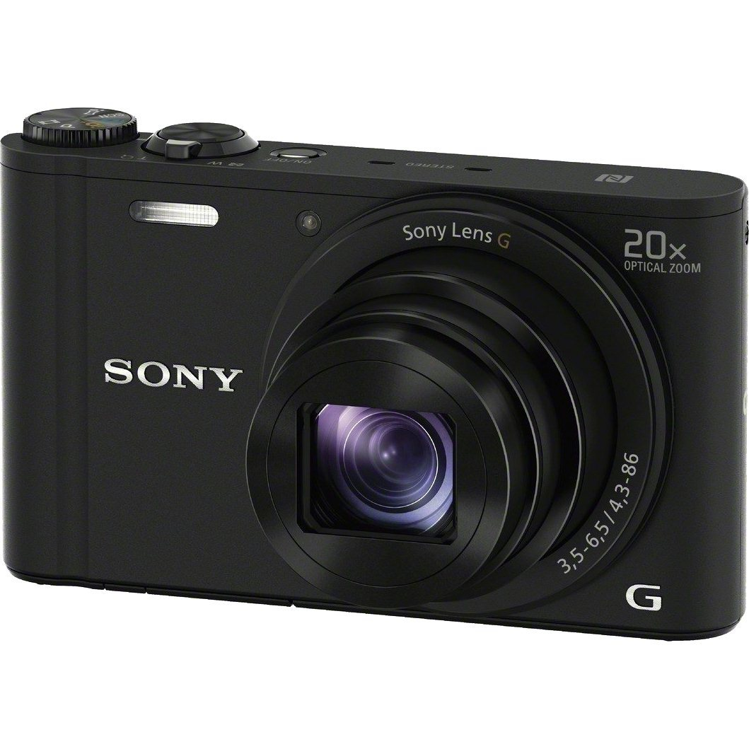 Фотоаппарат Sony DSC-WX350B чёрный купить в Sony Centre Воронеж