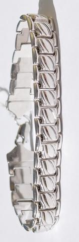 Полотно  (серебряный браслет)