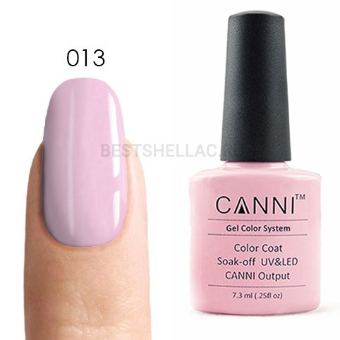 Canni Canni, Гель-лак № 013, 7,3 мл 013.jpg