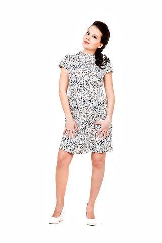 Платье 06119 белый