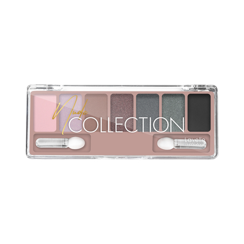 LavelleCollection Тени для век NUDE collection  ES-30 тон 04 серо-розовый нюд