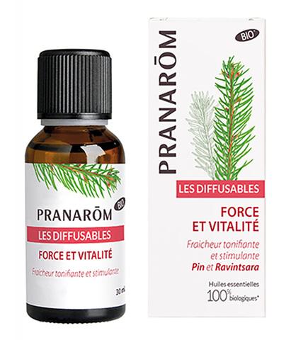 Смесь эфирных масел для ультразвукового диффузора Жизненная сила, Pranarom