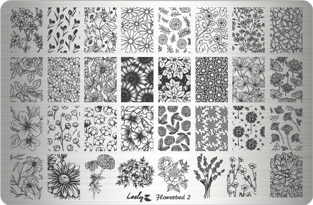 Плитка Lesly 9,5x14,5см Flowerbed 2