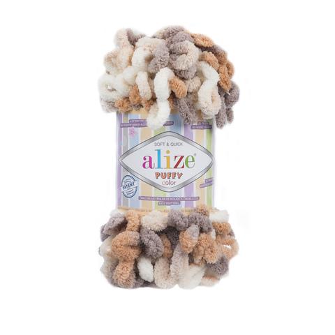 Купить Пряжа Alize Puffy Color Код цвета 5926 | Интернет-магазин пряжи «Пряха»