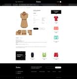 Шаблон интернет магазина - Модная одежда