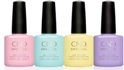 Набор CND SHELLAC CHIC SHOCK COLLECTION