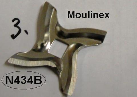 Нож+решетка для мясорубки moulinex (мулинекс) четырехгранник (квадрат) MA-A09B03 БОЛЕЕ НЕ ПОСТАВЛЯЕТСЯ КОМПЛЕКТОМ, см. MGR106UN+SS-192246
