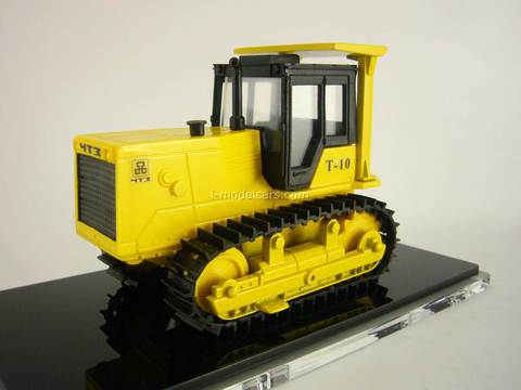 ChTZ UralTrac Tractor T-10 with hard towbar 1:43 Promtractor