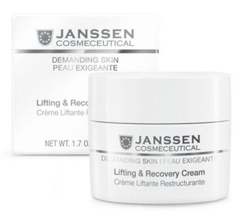 Janssen Lifting & Recovery Cream - Восстанавливающий крем с лифтинг-эффектом