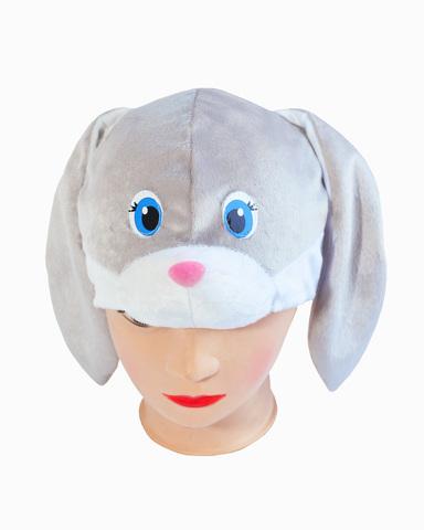 Маска-шапочка Серый Заяц