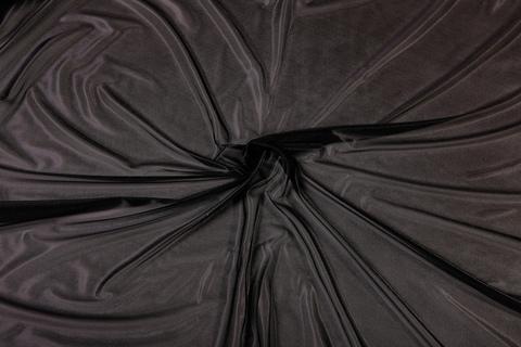 Сетка корсетная черная мягкая (метражом)