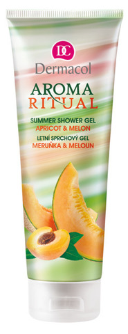 Dermacol Aroma Ritual Summer Shower Gel Apricot and Melon Летний гель для душа