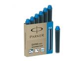 Картридж Parker Z17 MINI для перьевой ручки с чернилами неводостойкими Blue (6шт) (S076724