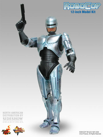 Robocop 3 With Gun Arm Model Kit