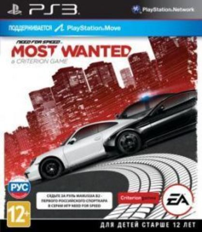 Sony PS3 Need For Speed: Most Wanted (английская версия)