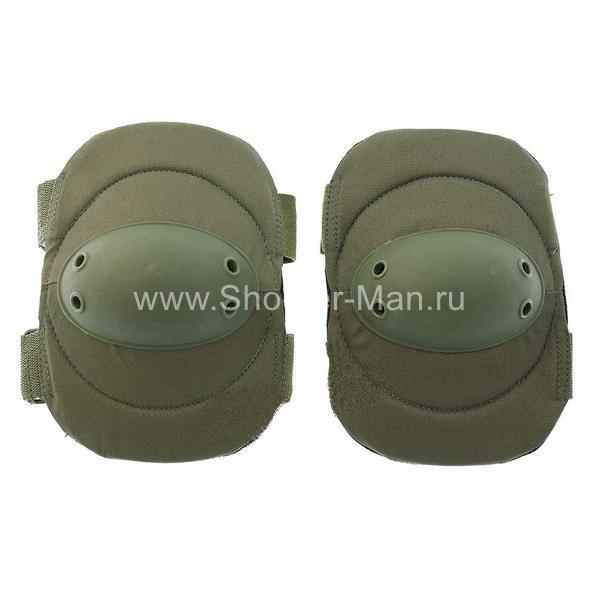 Тактческие налокотники защитные Mil-Tec Sturm Oliv фото