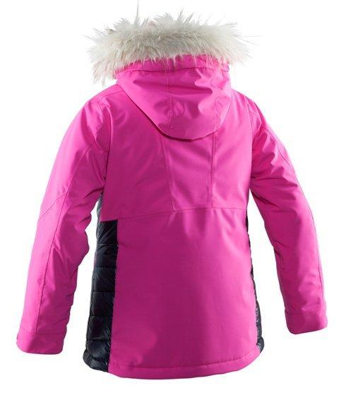 Горнолыжная куртка для девочек 8848 Altitude Amo розовая с мехом